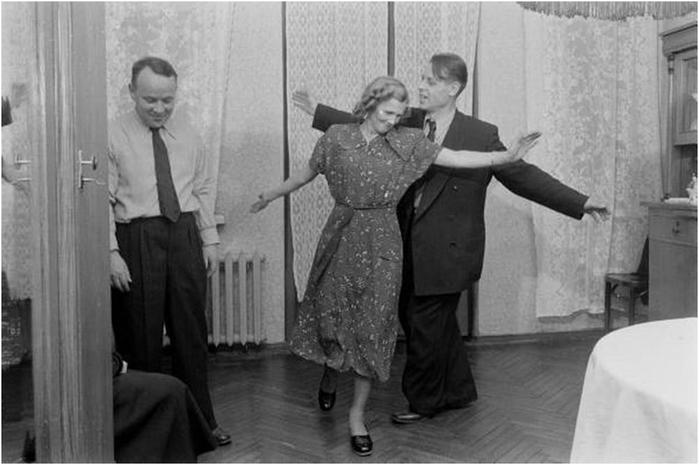 Фотограф LIFE Эдвард Кларк в гостях у советской семьи
