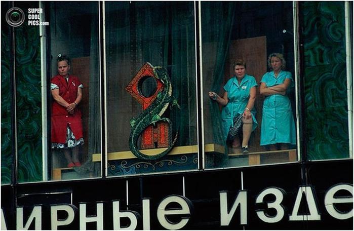 Советский Союз в начале 90 х на снимках журналиста Питера Тёрнли