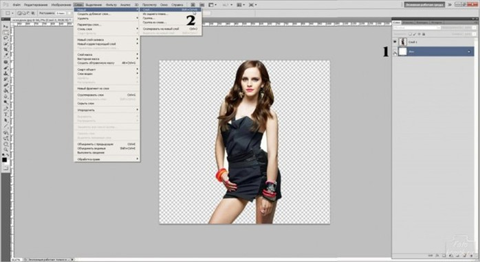 Уроки фотошопа. Эффект распада в фотошопе