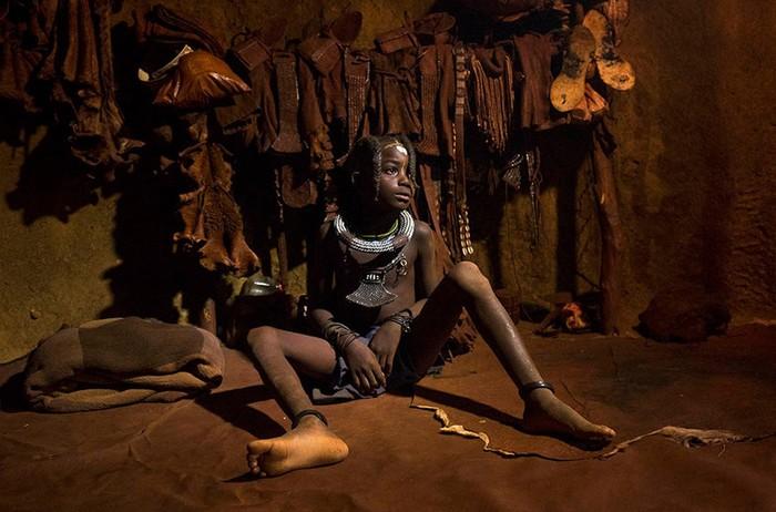 Жизнь племен Намибии на фотографиях Эрика Лафорга