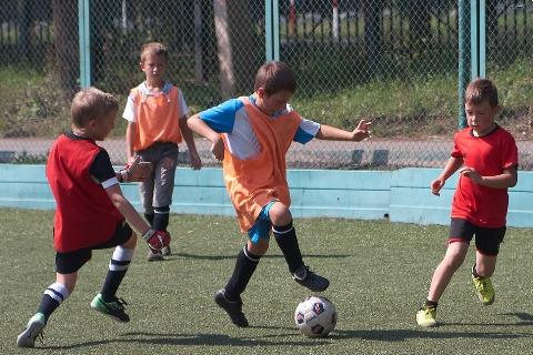 Погода улучшилась – пора играть в футбол!