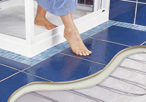 Теплый пол в ванной комнате как способ борьбы с грибком!