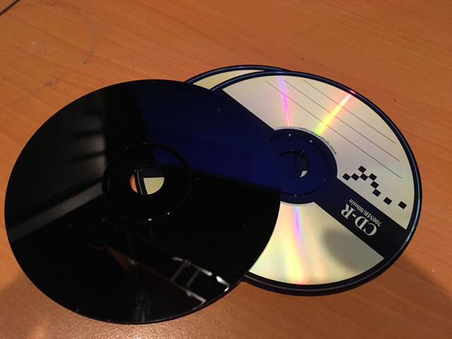 Black CD ROM (640x480, 60Kb)