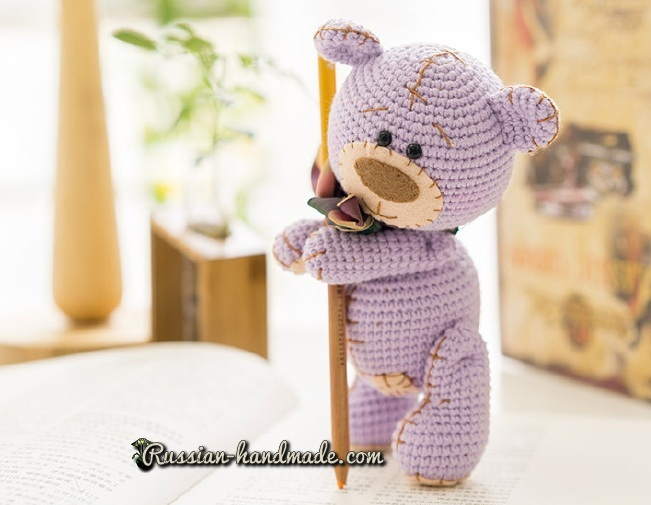 Мишка Тедди крючком. Вяжем амигуруми (3) (651x505, 224Kb)