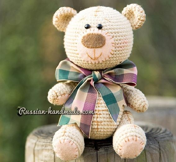 Мишка Тедди крючком. Вяжем амигуруми (5) (567x524, 263Kb)