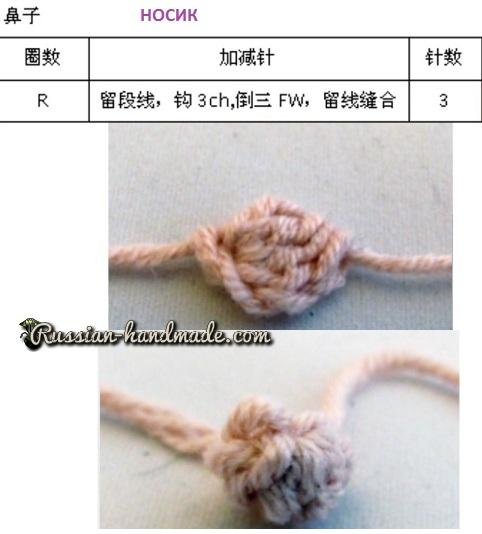 Вязание амигуруми. Куколка Лягушка (15) (482x534, 135Kb)