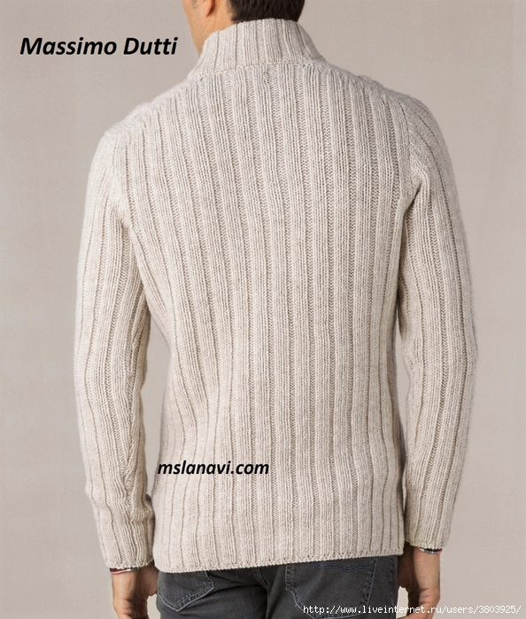 Свитер-спицами-Massimo-Dutti-спинка (594x700, 342Kb)