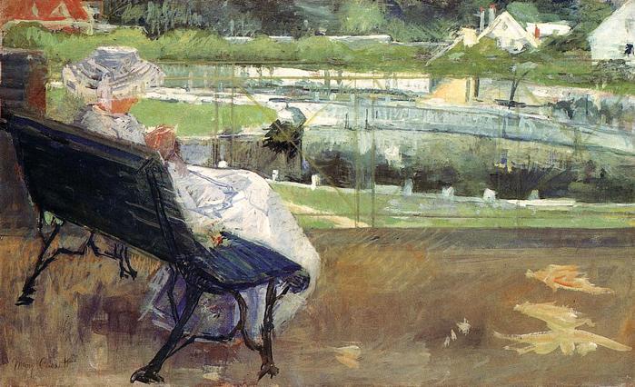 Лидия на скамье вяжет крючком, 1881 (700x426, 71Kb)