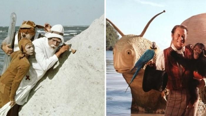 Персонажи советских сказок и их зарубежные аналоги