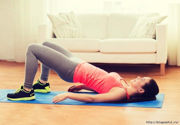 статические упражнения от остеохондроза