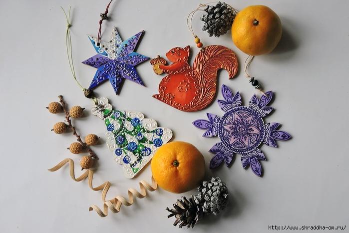 Новогодние подвески от Shraddha (27) (700x466, 235Kb)