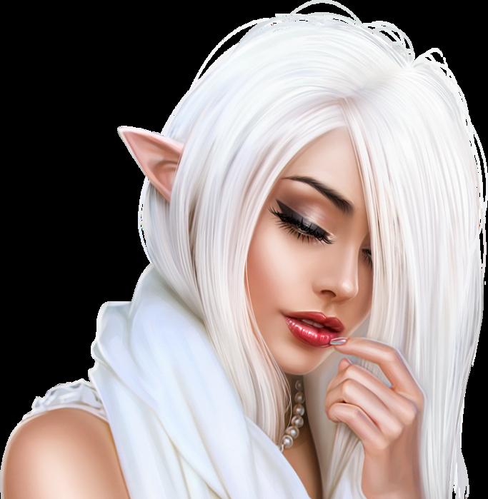Snow Elf Close up (683x700, 536Kb)