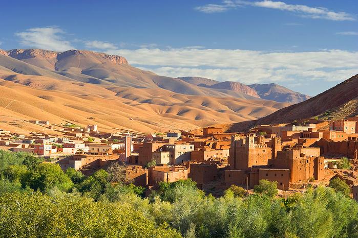 за что туристы любят марокко