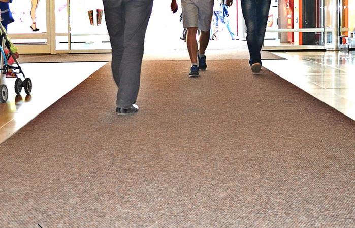 резиновые влаговпитывающие ковры