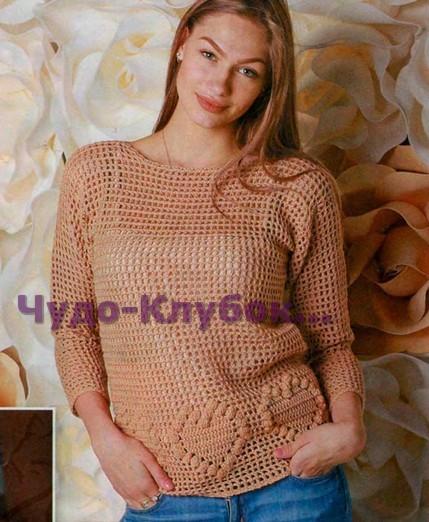 Пуловер с сердечками 1437 (429x522, 77Kb)