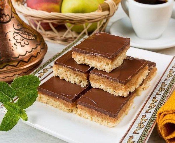 печенье со сгущёнкой и шоколадом