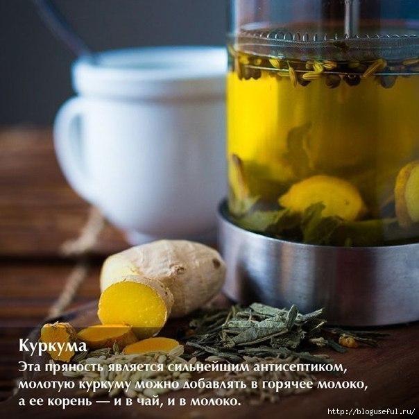 напитки от простуды с пряностями и специями