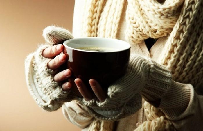 Вкусные напитки, которые согреют в сильный мороз