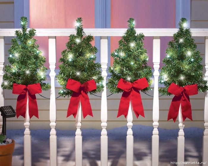 Красивые идеи украшения новогоднего интерьера (6) (700x558, 329Kb)