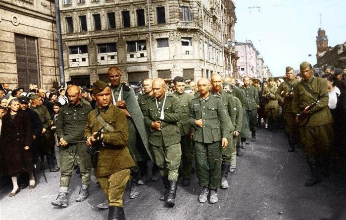 Как в советском плену содержались немецкие военнопленные