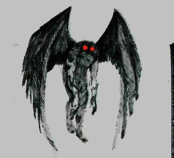 Пророчества человека мотылька. Его появление вызывает массовый ужас!