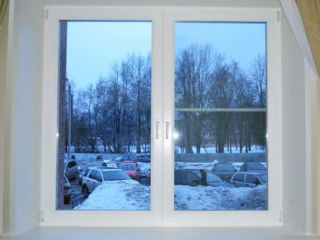 Пластиковые окна сохраняют нам тепло!