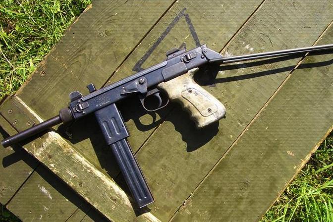 Пистолет-пулемет «Борз»— настоящий чеченский автомат