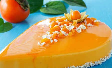 десерт из хурмы (450x273, 16Kb)