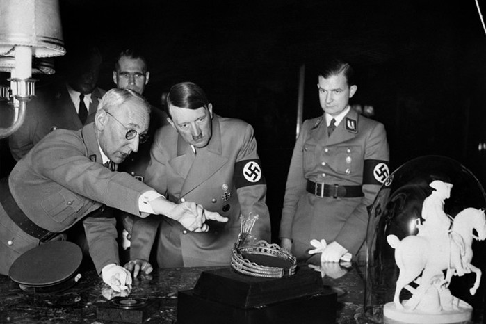 Какие трофеи нацисты вывозили с оккупированной советской территории