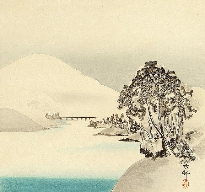 Снежная гора (653x612, 384Kb)