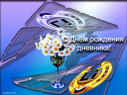 Дневники поздравления с днем рождения 4