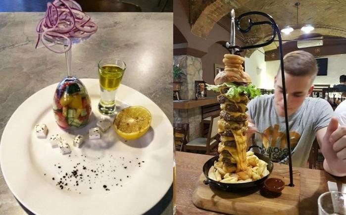Примеры слишком оригинальных ресторанов