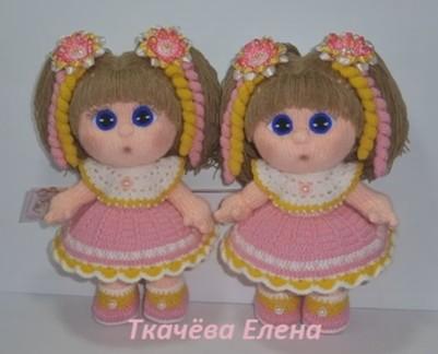 Вязание куклы мастер класс елены ткачевой 61