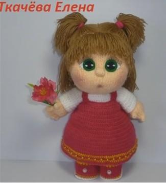 Вязание куклы мастер класс елены ткачевой 817