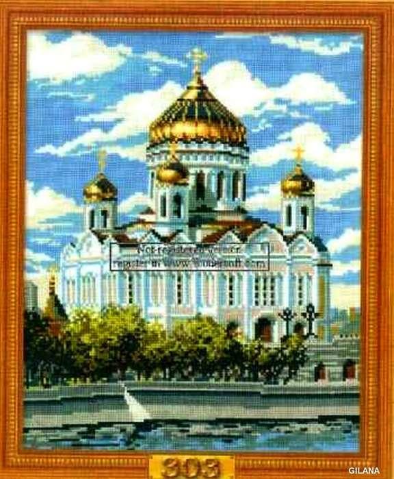 Вышивка крестом. Коллекция схем — Церкви, соборы 2010.