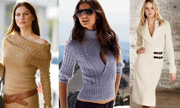 Очень красивое вязание для женщин 70