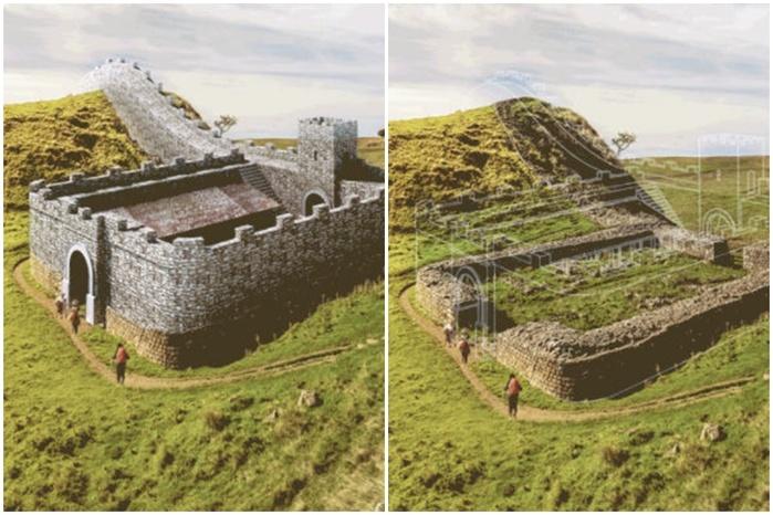 Проект Expedia восстанавливает древние руины в gif-анимации