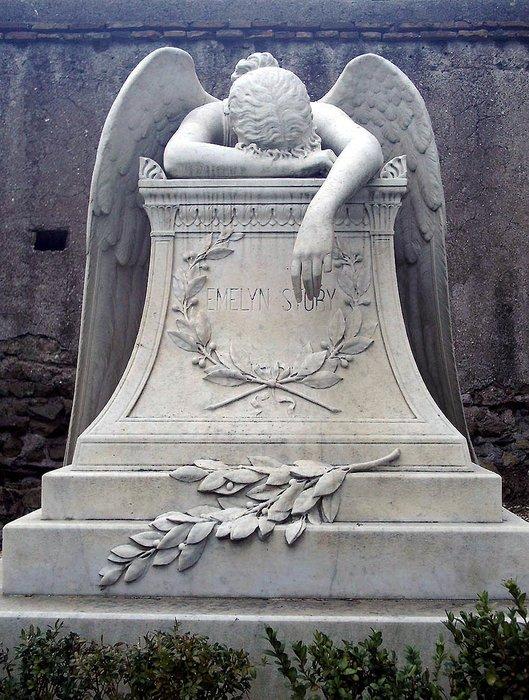Загадочная история трагического памятника «Ангел скорби»