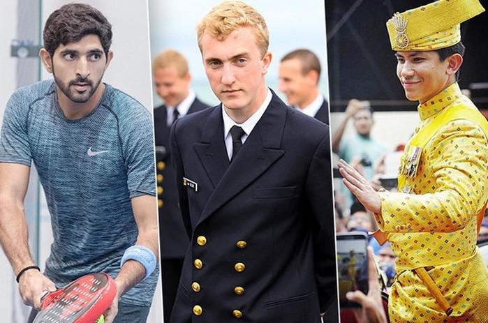 Топ неженатых принцев из разных стран