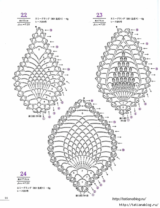Asahi_Original_-_Lacework_Pineapple_Pattern_100.page25 copy (539x700, 216Kb)