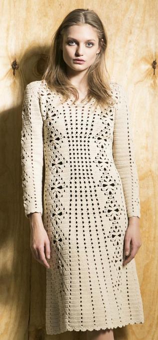 Платье крючком от Veronica Beard