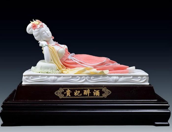 Китайские статуэтки фарфоровых фей