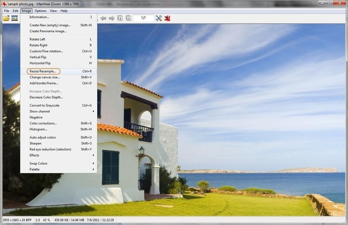 Программа Irfanview   новая версия бесплатного приложения для картинок