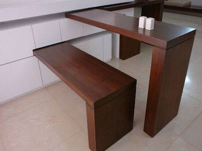 Dining room table for small space