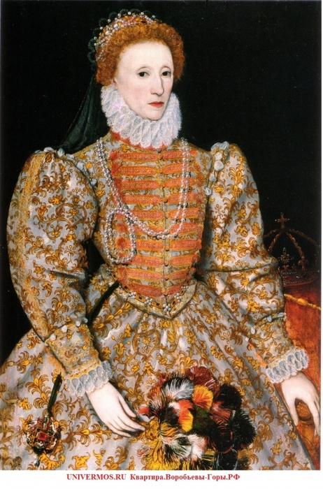 Королева Англии Елизавета I Тюдор Изображение сайта UNIVERMOS.RU  Квартира.Воробьевы-Горы.РФ/5957278_queen (462x700, 310Kb)
