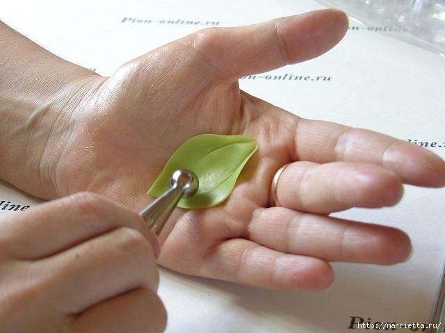 Орхидея Леди Слиппер из полимерной глины62) (640x479, 161Kb)