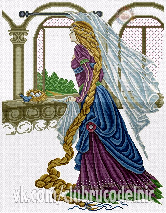 Rapunzel (545x700, 648Kb)