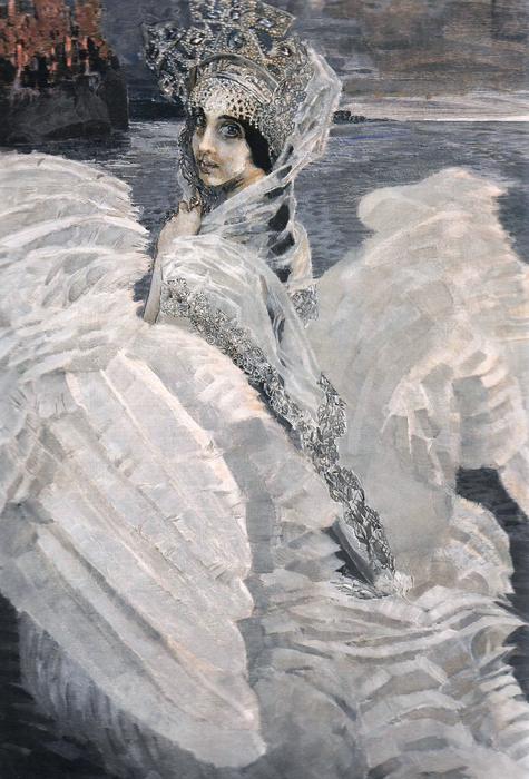 Tsarevna-Lebed_by_Mikhail_Vrubel_(brightened) (475x700, 404Kb)