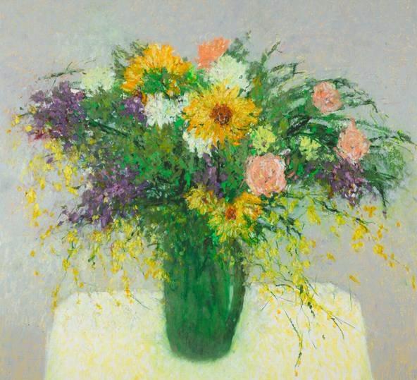 Floral Array (592x539, 324Kb)