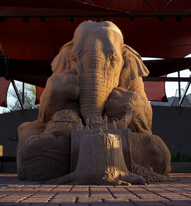 песочные скульптуры фото 2 (648x700, 436Kb)